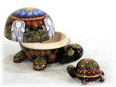 Nesting Turtle...love it!!