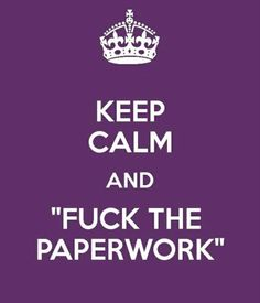 Fifty Shades: fuck the paperwork