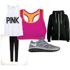 Workout Gear, created by forensicpancakes17 on Polyvore