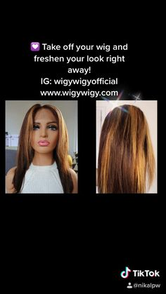 """💟👍In a perfect world, our wigs would keep their style 24/7. Luckily, it's easy to take wigs off and freshen up your look right away. ❣️14"""" mixed color, 100% human hair, 13*6 large lace. • """"Your hair, your way"""" #wigs #nycwigs #hairdiy #wigstyle #alopecia #alopeciaawareness #bald #baldgirls #humanhairwig #wigsforblackwomen #wigsforwomen #wigsforsale #hairfall #hairinspiration #dragqueens #medicalwigs #fashionwigs #bobwigs #honeybrown #beautytips #makeup #hairlovers"""