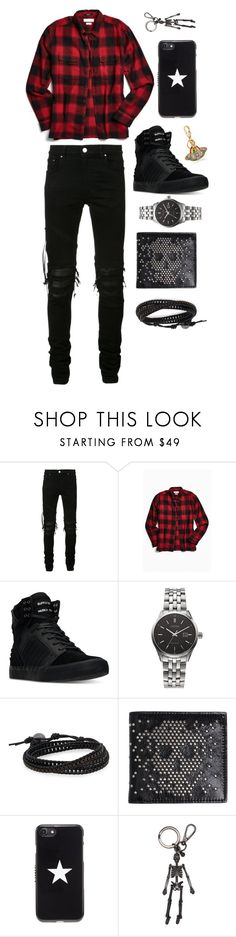 """Untitled #438"" by mbubbles109 ❤ liked on Polyvore featuring AMIRI, Urban Outfitters, Supra, Citizen, Jan Leslie, Alexander McQueen, Givenchy, Gucci, men's fashion and menswear"