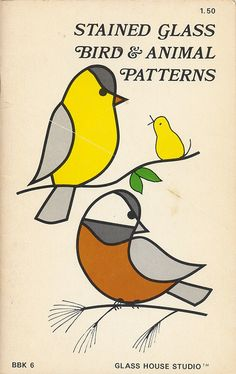 1065.1 by montague projects.  stained glass pattern book from 1972