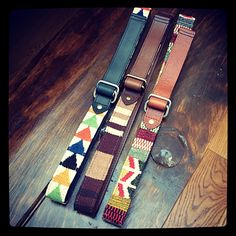 Belt It Out: Reversible Hand-Woven Belts by Caputo & Co.: The Daily Details: Blog : Details