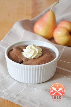 Smaki Świata: Gruszki zapiekane w musie czekoladowym Sweets, Cooking, Interior, Food, Gastronomia, Kuchen, Kitchen, Gummi Candy, Indoor