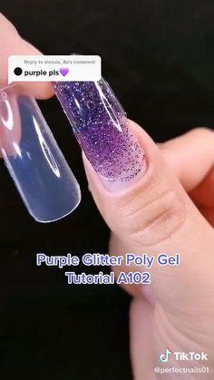 Work Nails, Polygel Nails, Nail Art Designs Videos, Diy Nails Videos, Acrylic Nails Coffin Pink, Nagellack Design, Nails Design With Rhinestones, Cute Acrylic Nail Designs, Pretty Nail Art