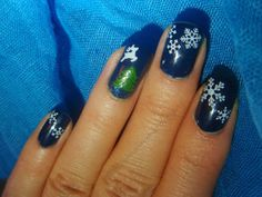 OPI I Saw...U Saw...We Saw...Warsaw..., Depend 363 with water decals