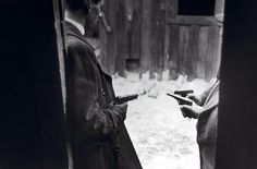 Saboteurs with guns, March 1945