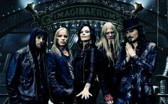 Nightwish is a symphonic metal band from Kitee, Finland. The band was formed in 1996 by lead songwriter and keyboardist Tuomas Holopainen, guitarist Emppu Vuorinen, and vocalist Tarja Turunen, who was replaced in 2007 by former Alyson Avenue singer Anette Olzon. In 2002, original bassist Sami Vänskä was replaced by Marco Hietala, who also took over the male vocalist role previously filled by Holopainen or guest singers