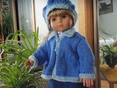 American Girl Flared Sweater pattern by Janet Longaphie