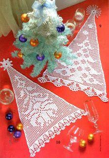 Die 115 Besten Bilder Von Häkeln Weihnachten In 2019 Filet Crochet