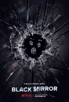 Black Mirror ) Created by Charlie Brooker. With Daniel Lapaine, Hannah John-Kamen, Michaela Coel, Beatrice Robertson-Jones. An anthology series exploring a twisted, high-tech world where humanity's greatest innovations and darkest instincts collide. Black Mirror Poster, Black Mirror Show, Films Netflix, Shows On Netflix, Netflix List, Netflix Hacks, Best Series, Best Tv Shows, Series Movies