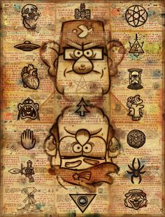 gravity falls theories - Google Search