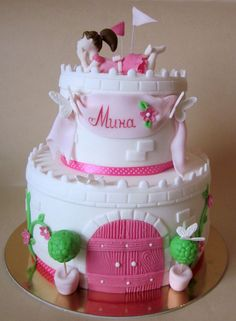 princess cake — Children's Birthday Cakes