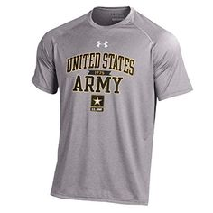 Under Armour Men's United States Armed Forces NuTech T-Shirt Collection-Army-Heather Grey-XL | AMAZON.COM saved by #ShoppingIS