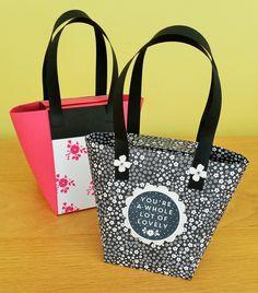 Gift box Punch Board Handbag