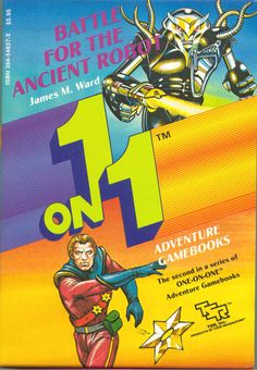 1 on 1 Adventure Gamebooks: Battle for the Ancient Robot