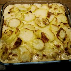 Haddock Mornay Layer Bake - A rustic hearty dish that is easy to prepare and a perfect treat for your family at the weekend - www.fishisthedish.co.uk/recipes/haddock-mornay-layer-bake