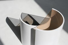 contour side tables - design BOWER