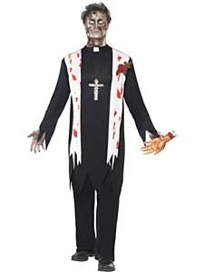 Zombie Priest Costume  sc 1 st  Pinterest & 105 best Halloween | Mens Costumes images on Pinterest | Adult ...
