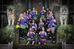 The Gallow Lasses. Dunedin Derby A Team at Lanarch Castle Roller Derby, A Team, This Is Us, Champion, Castle, Skate, Girls, Daughters, Forts