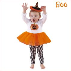 #PumpkinTutuOutfit is so cute it's scary!
