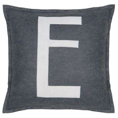 Spell It Out E Pillow