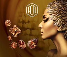 """""""An Affair of the Heart"""" #chocolatediamonds #diamonds #stunningdiamond #Australian #Argyle #Chocolate"""