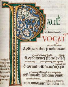 Bestiaire du Moyen Âge Illuminated Letters, Illuminated Manuscript, Book Of Hours, Medieval Manuscript, Scroll Design, Calligraphy Letters, Letter Writing, Design Elements, Artsy