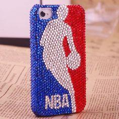 NBA Custom Bling Case Cover for iPhone 4