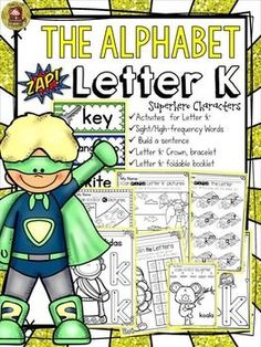 The Alphabet '/K/' booklet features interactive activities for the letter '/K/'. Students get to compile all activities in a booklet to take home. In addition, they craft a 'Letter '/K/' Champ' crown and bracelet and put together a mini flipbook.  https://www.teacherspayteachers.com/Product/PHONICS-THE-ALPHABET-LETTER-K-2436435