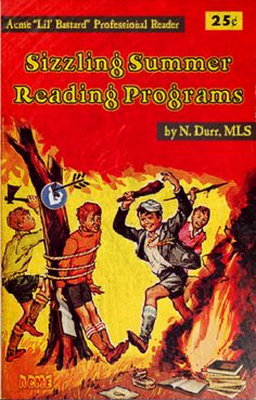 Sizzling Summer Reading Programs Professional Library Literature : simplebooklet.com