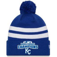 Kansas City Royals 2015 World Series Champions Cuff Knit Cap by New Era - MLB.com Shop