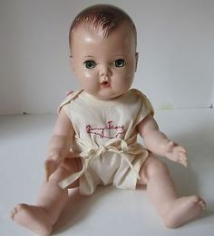Vintage Antique Ott 19 Crying Thumbelina Doll Works Crier
