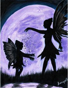 The moon's a gong, hung in the wild, Whose song the fays hold dear. Of course you do not hear it, child. It takes a FAIRY ear. The full moon is a splendid gong That beats as night grows still. It sounds above the evening song Of dove or whippoorwill.