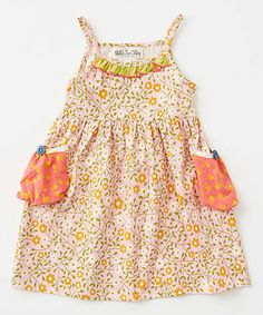 This Matilda Jane Clothing Light Pink Sun Dew Dress - Infant, Toddler & Girls by Matilda Jane Clothing is perfect! #zulilyfinds