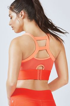 63a359291b Beat the bounce in our high support sports bra with power mesh in back for  breathability