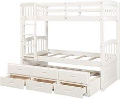 Coaster Home Furnishings Twin Bunkie Board with 2 Wood Foundation Tan