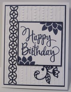 September Monthly Stampin' Club Cards