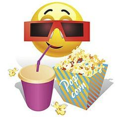Illustration about Smiling ball watching movie in cinema. Smiley Emoticon, Happy Smiley Face, Emoticon Faces, Emoji Images, Emoji Pictures, Emoji Pics, Silly Faces, Funny Faces, Big Emoji