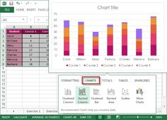 Excel charts, graphs, pivot tables made easy