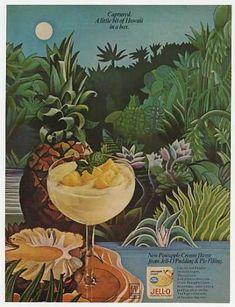 Jello Jell-O Pineapple Cream Pudding