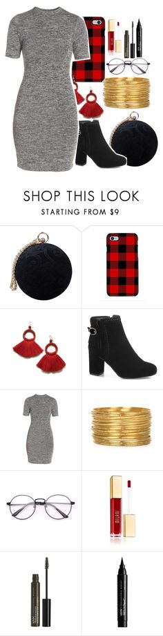 """""""accent colors"""" by unofficial-lovegood ❤ liked on Polyvore featuring Carvela, Samsung, French Connection and NYX"""