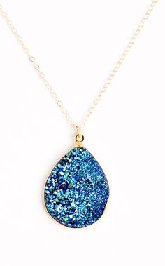 Stargazer Druzy Necklace
