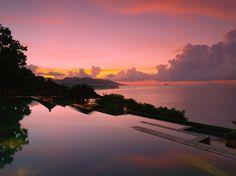 Bali, Indonesia. Amankila Resort
