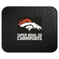 2015 Denver Broncos Super Bowl 50 NFL Car Truck Floor Mat Carpet Rug #FanMats