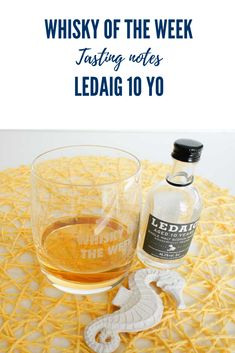 Review and tasting notes for the Ledaig 10 yo Single Malt whisky Scottish Islands, Single Malt Whisky, Distillery, Scotch, Notes, Plaid, Report Cards, Notebook