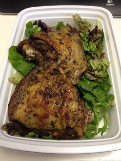 Day 9 (lunch): more jerk chicken!