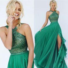 emerald grecian gown - Google Search