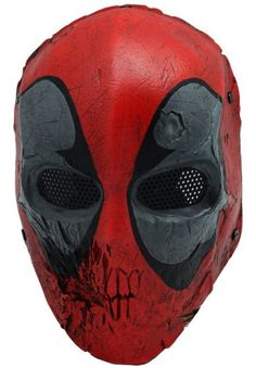 Amazon.com: Skull 40d Mask Full Face Wire Mesh Mask for Airsoft , BB Gun and Paint Ball: Sports & Outdoors