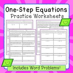 math worksheet : one step equations thanksgiving turkey and equation on pinterest : Solving Multiplication And Division Equations Worksheets